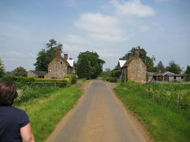 Estate houses at Edgcote