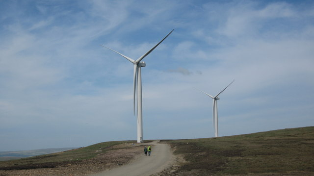 Turbine Towers 22 and 24 at Scout Moor