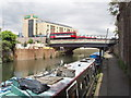 TQ1777 : Grand Union Canal bridge 209 - High Street Brentford by David Hawgood