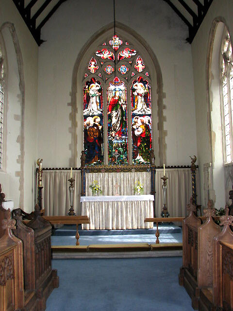 St Edmund's church - chancel