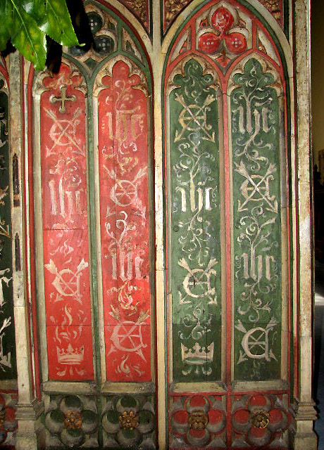 St Edmund's church - screen