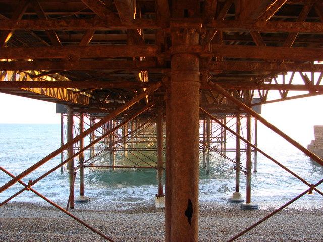 Brighton Pier - under the board walk