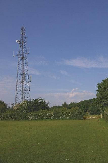 Ivy Farm telecom mast