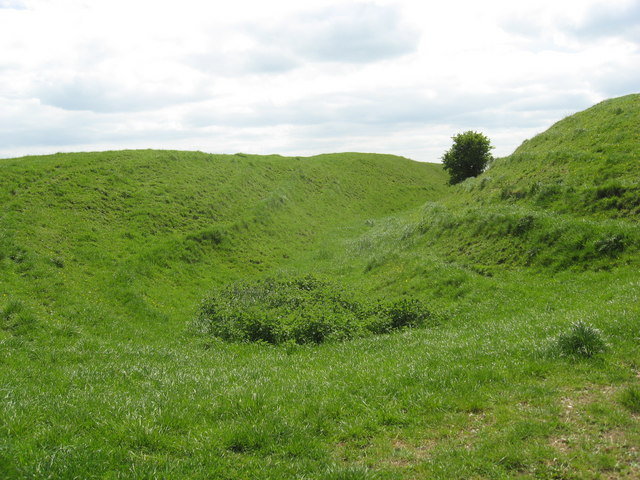 Ditch, Liddington Hill