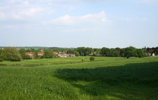 View towards Bulkeley from Stone House Lane