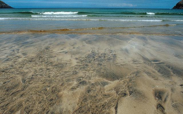 Sand Pattern Camas Na Clibhe