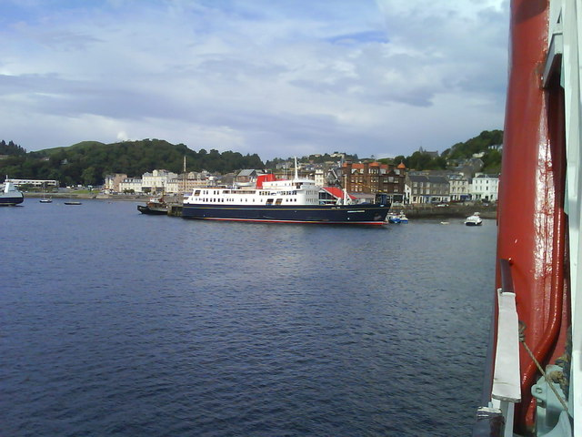 Hebridean Princess Oban Pier