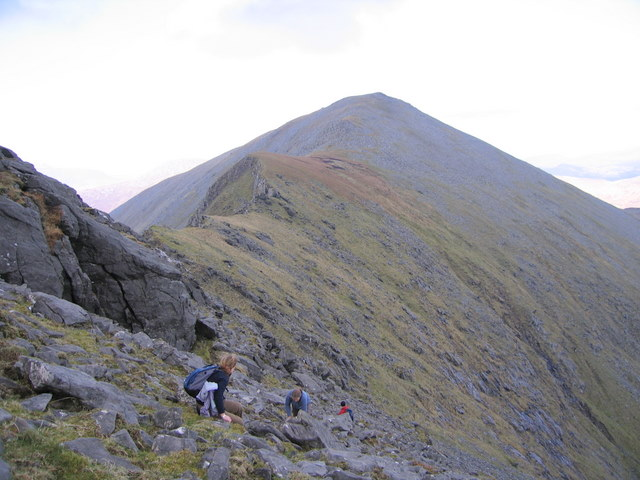 Ridge from Bengorm Co Mayo