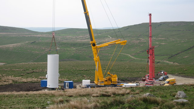 Turbine Tower No 26 construction site