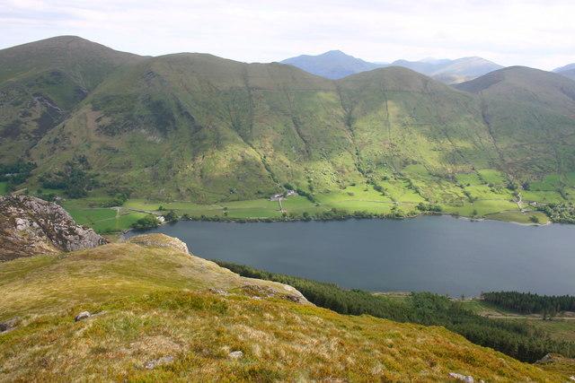 Llyn Cwellyn and the Moel Eilio Ridge