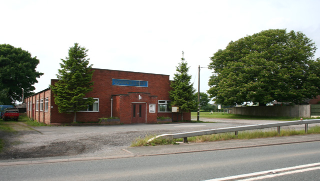 Goodwill Hall, Faddiley