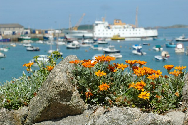 The Scillonian from The Strand
