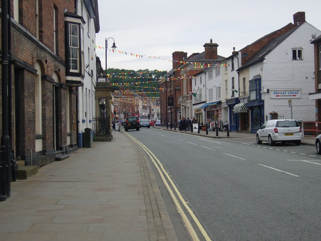 Severn Street, Welshpool