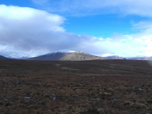 More moor on the way to Loch Fannich