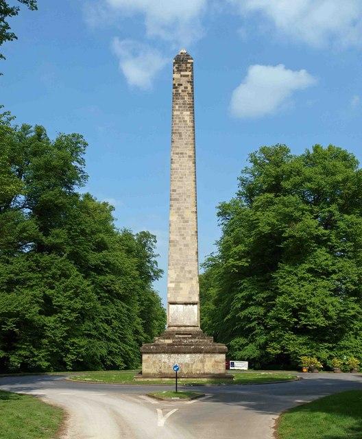 The Obelisk at Castle Howard