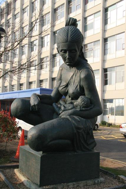 Statue - Birmingham Women's Hospital