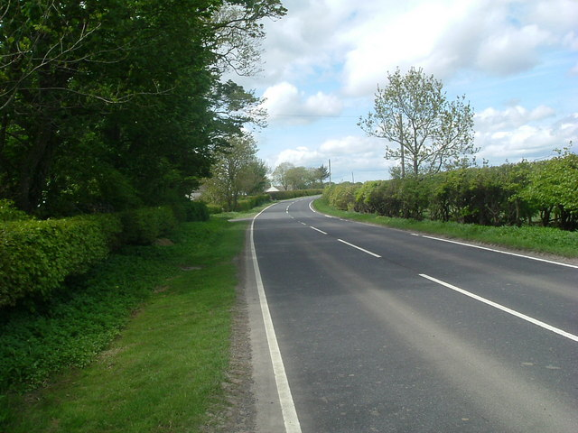 A882 toward Bilbster Mains