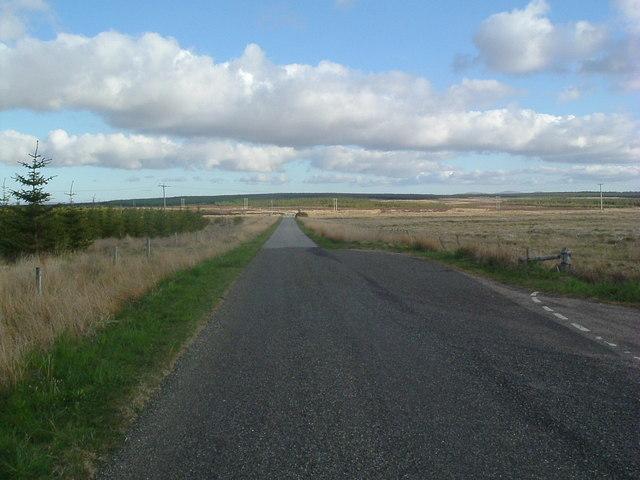 Road south at Olgrinbeg