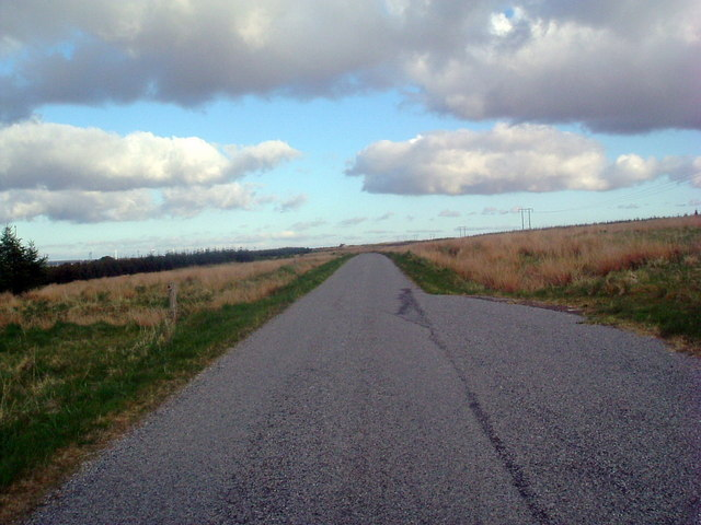 Road northeast of Achlibster