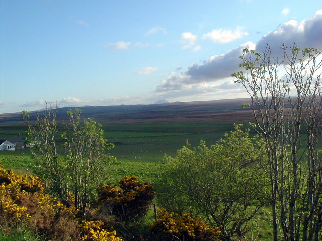 View west from layby near Rangag