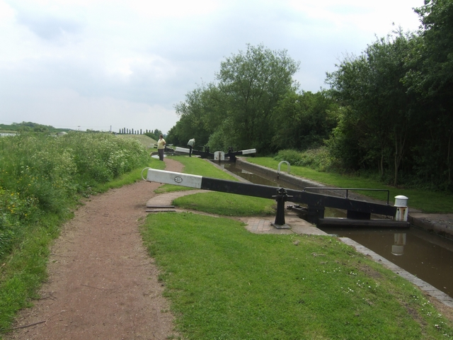 Worcester & Birmingham Canal - Lock 52