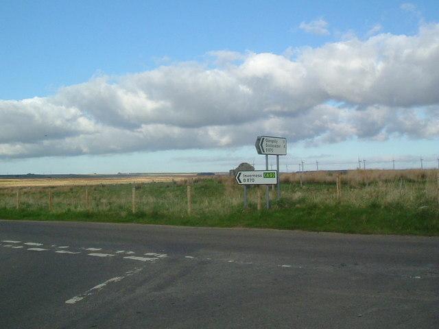 B870 near Westerdale