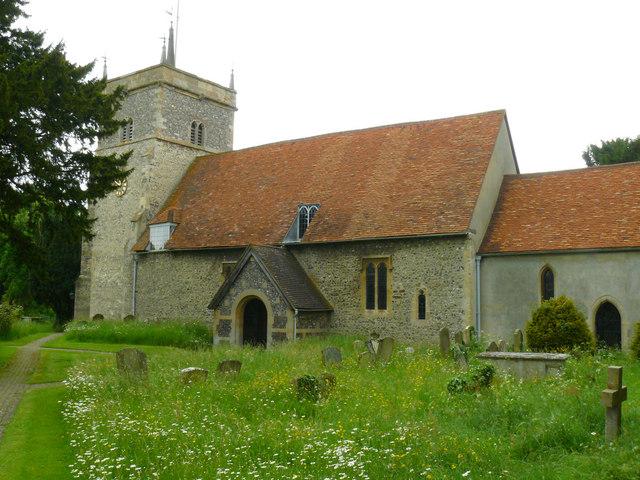 Bucklebury St Mary The Virgin Chris Talbot Cc By Sa 2