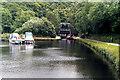 SE0922 : Salterhebble Bottom Lock, Calder and Hebble Navigation by Dr Neil Clifton