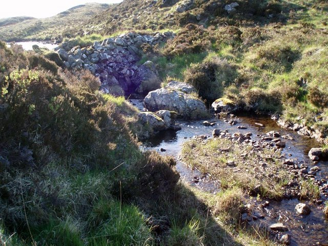 Loch a' Ghille dam