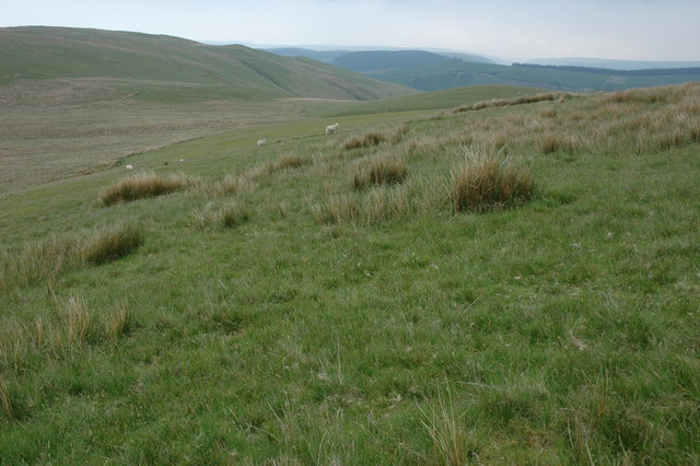 The southern slopes of Darren