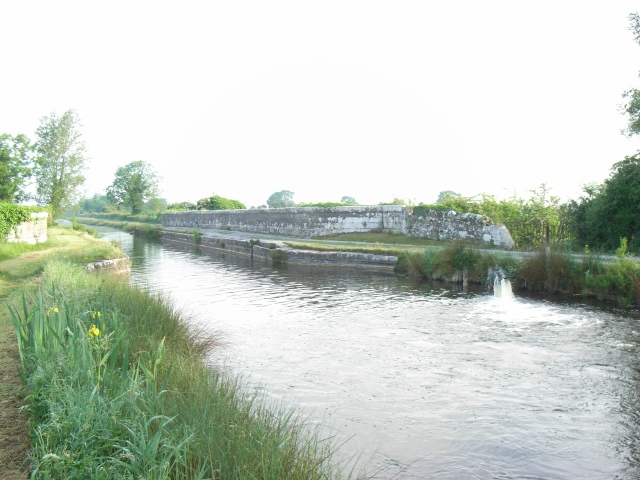 The Boyne Aqueduct on the Royal Canal