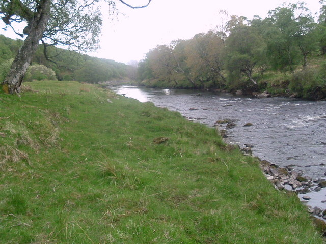 Downstream at Suisgill lodge