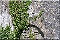 R2791 : Shil na Gig above church door - Killinaboy Townland by Mac McCarron