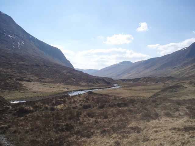 West along Gleann Fhiodhaig