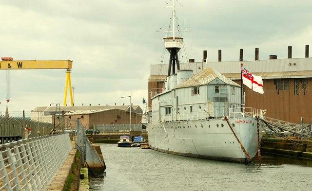 """HMS """"Caroline"""", Belfast"""