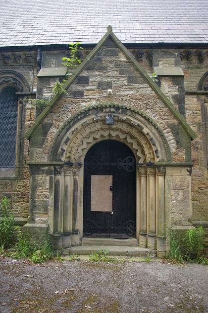Archway of St. John's Church, Rhos