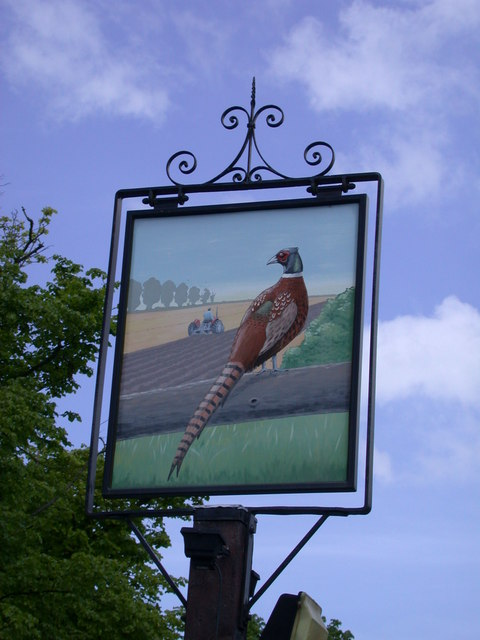 The sign of The Pheasant
