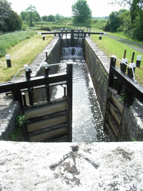 32nd Lock on the Royal Canal near Cartron, Co. Westmeath