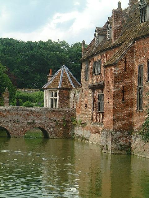 Bridge at Kentwell Hall