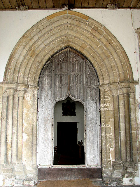 The Church Of All Saints C15 Door With 169 Evelyn Simak