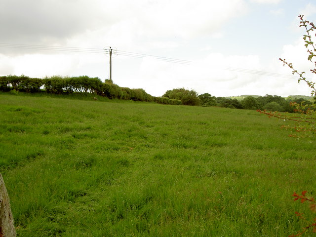 Footpath to Pentre Farm
