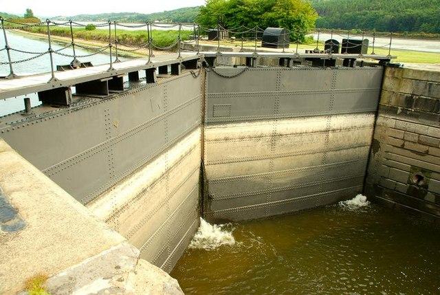 The Victoria Lock near Newry (1)