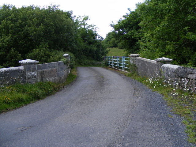 Bridge over Owendalulleegh River Killafeen & Gortacarnaun Townlands