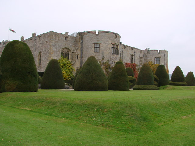 Chirk Castle, manicured