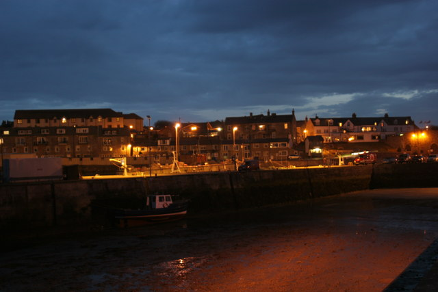 Seahouses By Night