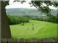 SE0942 : East Morton Golf Course - Carr Lane by Betty Longbottom