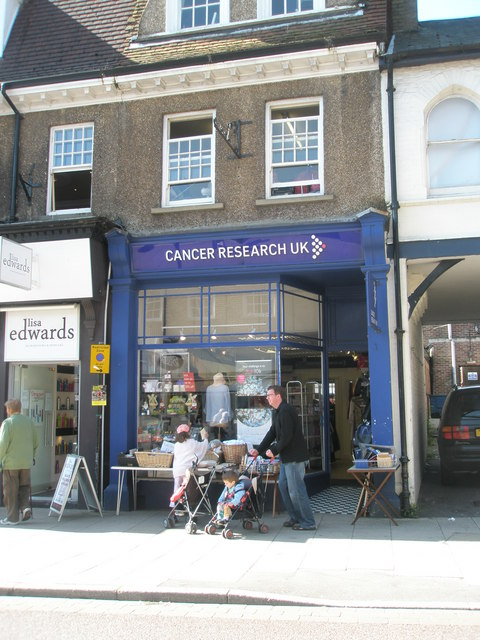 Cancer Research UK in the High Street