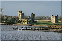 S8412 : Monastic Ruins - Bannow Bay by Brian Hodge
