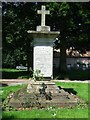 War memorial Great Livermere Suffolk.