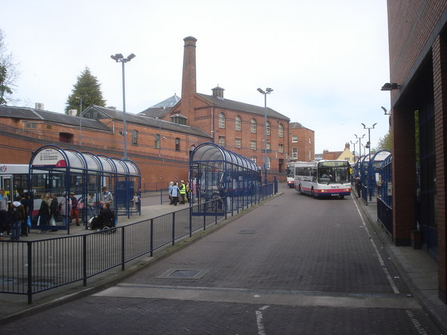 Worcester Crowngate bus station